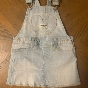 OshKosh B'Gosh Overall Dress Size 18M